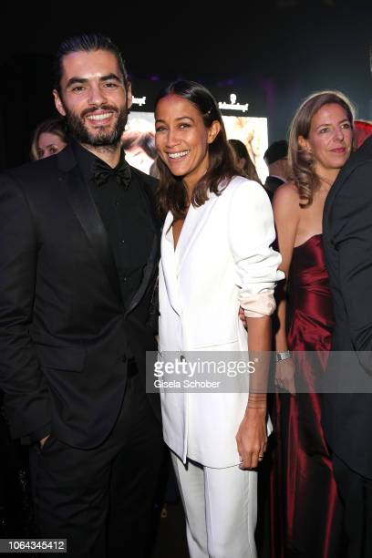 Nik Xhelilaj and Rabea Schif during the Bambi Awards 2018 after party at Stage Theater on November 16 2018 in Berlin Germany