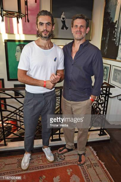 Nik Xhelilaj and Steffen Groth attend the SemiFinal Round of Judging for The 47th International Emmy Awards on June 26 2019 in Berlin Germany