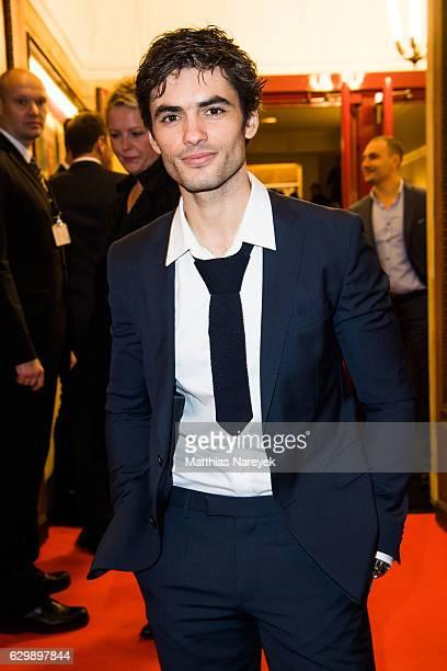Nik Xhelilaj attends he 'Winnetou Eine neue Welt' premiere at Delphi on December 14 2016 in Berlin Germany