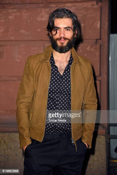 Nik Xhelilaj attends the PLACE TO B Party on February 17 2018 in Berlin Germany