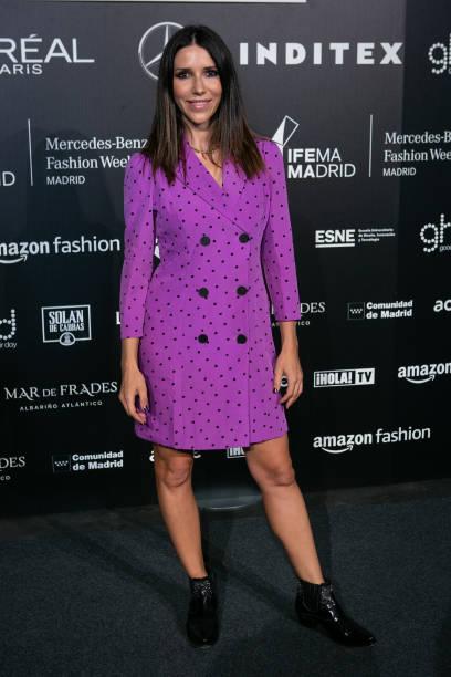 ESP: Celebrities - Day 2 - Mercedes Benz Fashion Week Madrid - September 2021