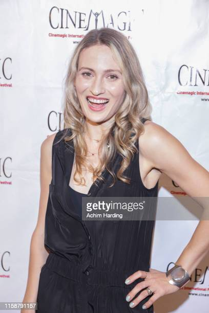 Nika Khitrova attends the 30th Anniversary Of The CineMagic Charity Gala at The Fairmont Miramar Hotel & Bungalows on June 27, 2019 in Santa Monica,...
