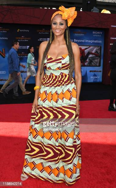 """Nika King attends the Premiere Of Sony Pictures' """"Spider-Man Far From Home"""" at TCL Chinese Theatre on June 26, 2019 in Hollywood, California."""