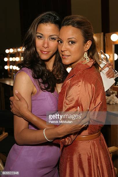 Nika LaRue and Eva LaRue attend 13th Annual Race to Erase MS Sponsored by Nancy Davis and Tommy Hilfiger Fashion Show and Backstage at Hyatt Regency...