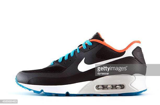 nike air max 90 hyperfuse trainer - nike designer label stock pictures, royalty-free photos & images
