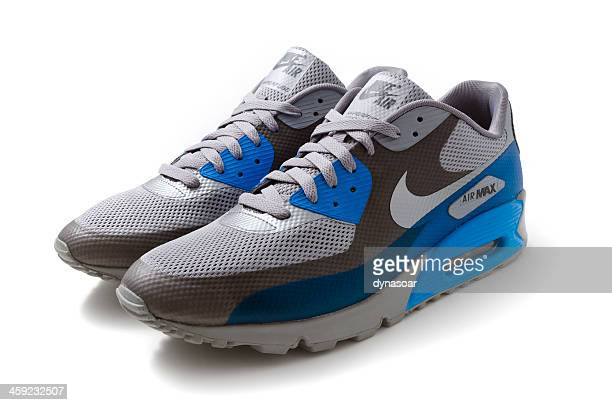 nike air max 90 trainers - nike sports shoe stock pictures, royalty-free photos & images
