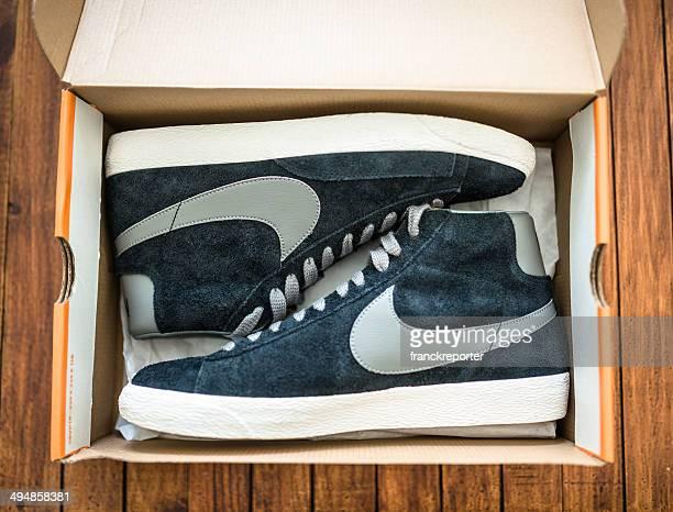 Nike blazer mid vintage Nahaufnahme auf der box package