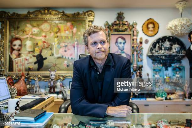 Nike CEO Mark Parker is photographed in his office for Wall Street Jornal Magazine on August 22 2013 in Beaverton Oregon