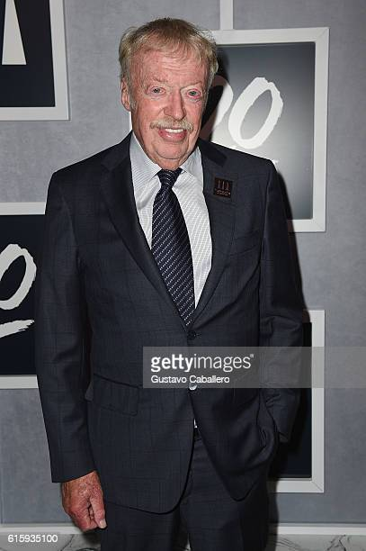 Nike cofounder Phil Knight attends the Tiger Woods Foundation's 20th Anniversary Celebration at the New York Public Library on October 20 2016 in New...