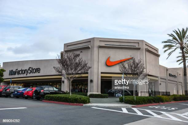 Nike factory outlet in Las Americas shopping mall, San Diego, USA
