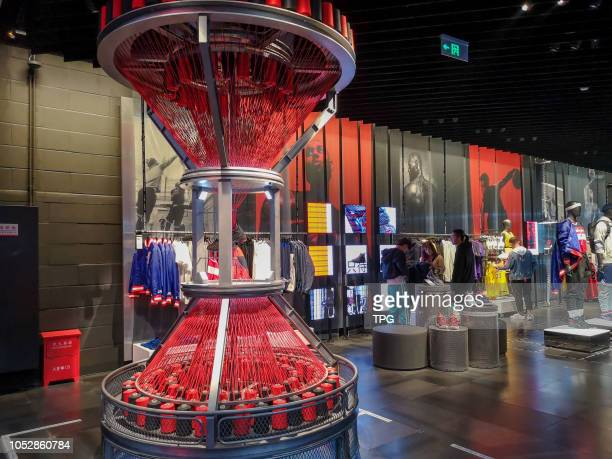 Nike first innovative flagship store open on 23 October 2018 in ShanghaiChina