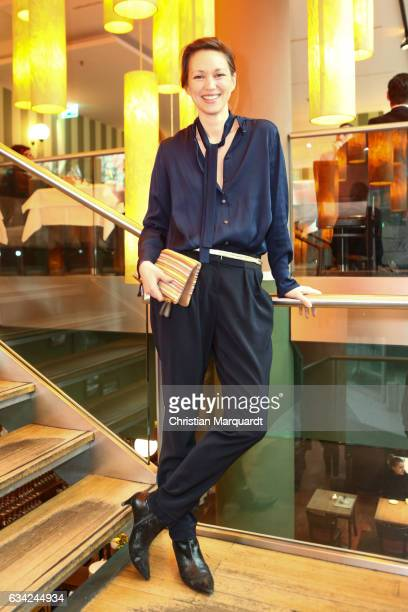 Nike Fuhrmann attends the Blaue Blume Awards 2017 at Sony Center on February 8 2017 in Berlin Germany