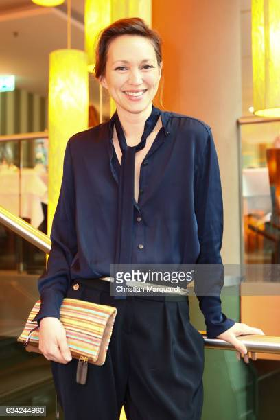 Nike Fuhrmann attends the Blaue Blume Awards 2017 at Sony Center on February 8, 2017 in Berlin, Germany.