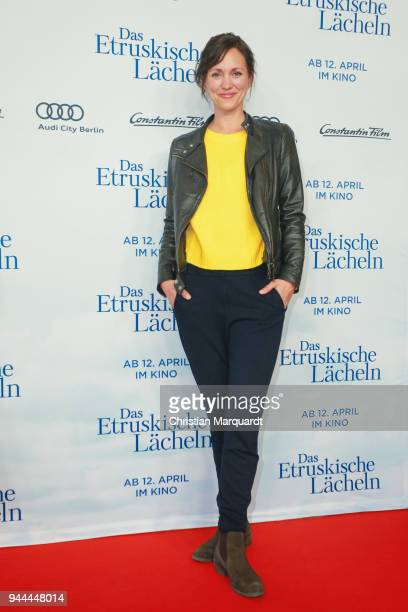 Nike Fuhrmann attends the 'Das Etruskische Laecheln' Premiere at Zoo Palast on April 10, 2018 in Berlin, Germany.
