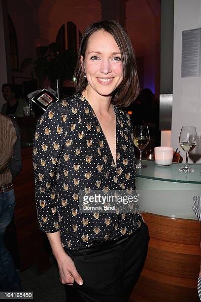 Nike Fuhrmann attends the Ndf Afterwork Party at 8 Seasons on March 20 2013 in Munich Germany