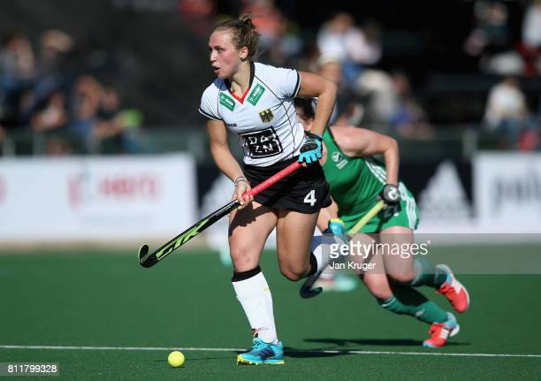 Nike Lorenz of Germany in action during day 2 of the FIH Hockey World League Semi Finals Pool A match between Germany and Ireland at Wits University...
