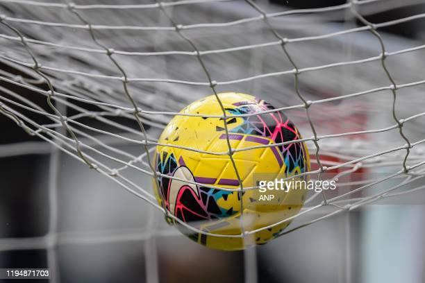 Nike Magia Hi-Vis ball during the Turkish Spor Toto Super Lig match between Besiktas AS and Demir Grup Sivasspor at the Vodafone Park on January 19,...