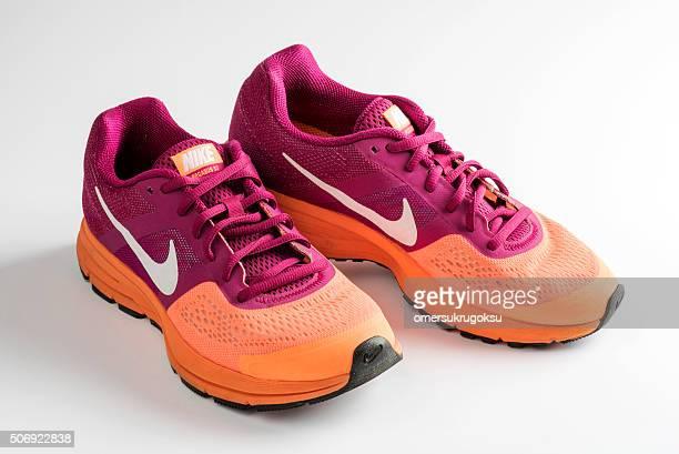 Nike Pegasus Design Shoes and Logo