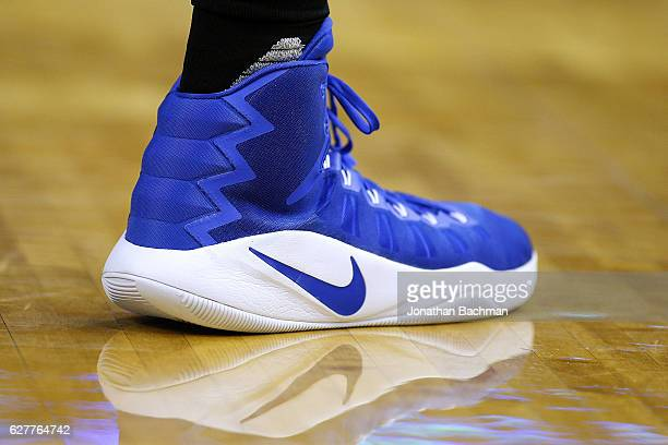 8eff5e1d217b06 Nike shoes are seen worn by DeAndre Jordan of the LA Clippers during the  first half
