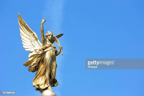 Nike (Goddess of Victory) Statue outside Buckingham Palace