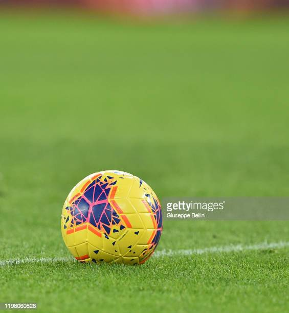 Nike Strike official ball of Serie A for season 2019/20 during the Serie A match between AS Roma and Torino FC at Stadio Olimpico on January 5 2020...