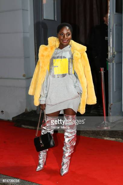 Nikeata Thompson arrives at the New Faces Award Style 2017 on November 15 2017 in Berlin Germany