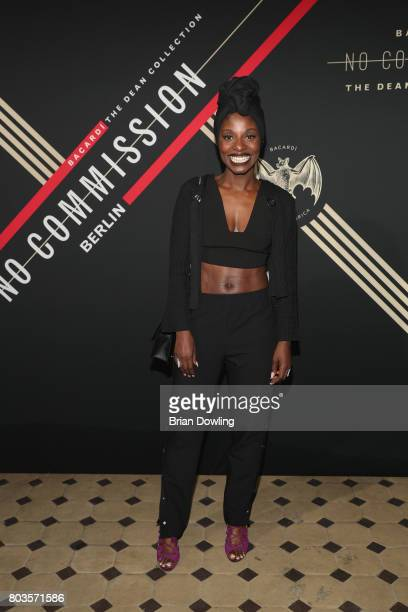 Nikeata Thompson attends Bacardi X The Dean Collection Present No Commission Berlin on June 29 2017 in Berlin Germany