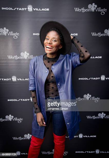 Nikeata Thompson attends the Athleisure popup event and exhibition at Ingolstadt Village on March 8 2017 in Ingolstadt Germany