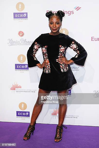 Nikeata Thompson attends the Echo Award 2016 on April 07 2016 in Berlin Germany