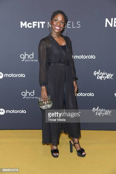 Nikeata Thompson attends the New Body Award By McFit Models on October 26 2017 in Berlin Germany