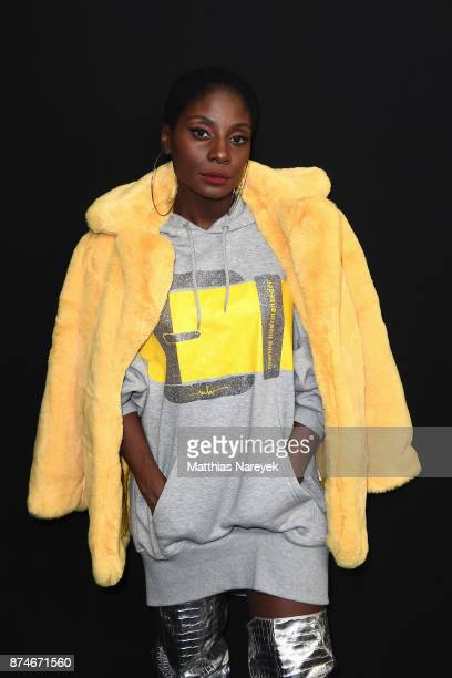 Nikeata Thompson attends the New Faces Award Style 2017 at The Grand on November 15 2017 in Berlin Germany