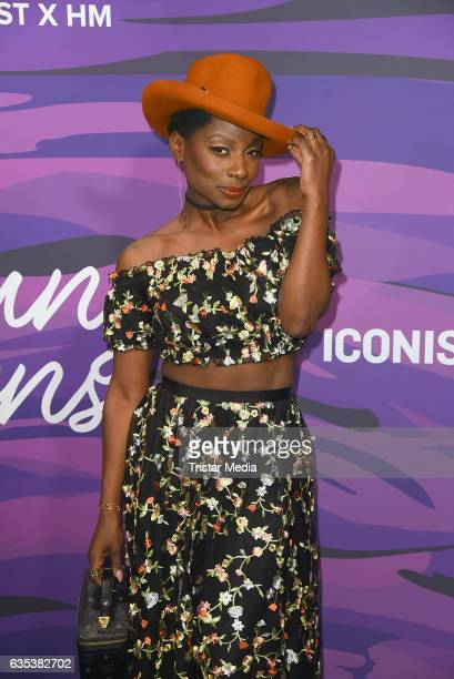 Nikeata Thompson attends the Young ICONs Award in cooperation with HM and Tiffany's Co at BRLO Brwhouse on February 14 2017 in Berlin Germany