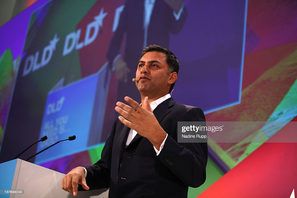 Nikesh Arora of Google speaks during the Digital Life Design conference (DLD) at HVB Forum on January 24, 2012 in Munich, Germany. ence and culture which connects business, creative and social leaders, opinion-formers and investors for crossover conversation and inspiration.