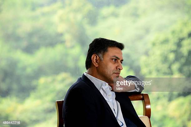 Nikesh Arora Senior Vice President and Chief Business Officer of Google on October 30 2013 in New Delhi India