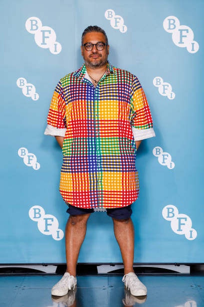 """GBR: """"In Conversation with Nikesh Shukla"""" At BFI Southbank - Photocall"""