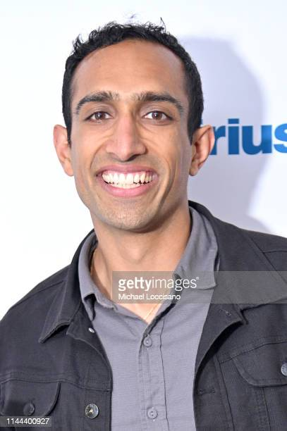 Nikhil Arora visits SiriusXM Studios on April 22 2019 in New York City