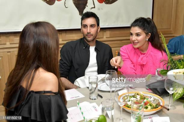 Nikhil Mansata and Jacqueline Fernandez attend an intimate dinner in celebration of BoF West 2019 at San Vincente Bungalows on April 25, 2019 in Los...