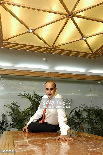Nikhil Nanda Executive Director and Chief Operating Officer Escorts Group poses at office in Delhi India Potrait Sitting