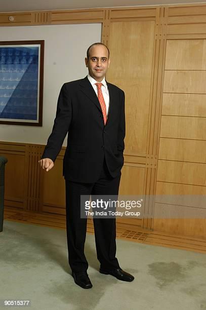 Nikhil Nanda Executive Director and Chief Operating Officer Escorts Group poses at office in Delhi India Profile