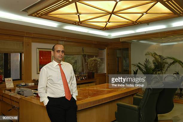 Nikhil Nanda Executive Director and Chief Operating Officer Escorts Group poses at office in Delhi India Potrait