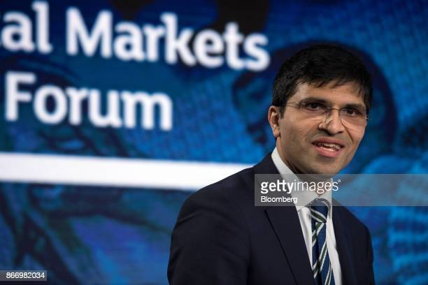 Nikhil Rathi chief executive officer of London Stock Exchange Plc speaks during the Nigeria Capital Markets and Banking Forum in London UK on Friday...