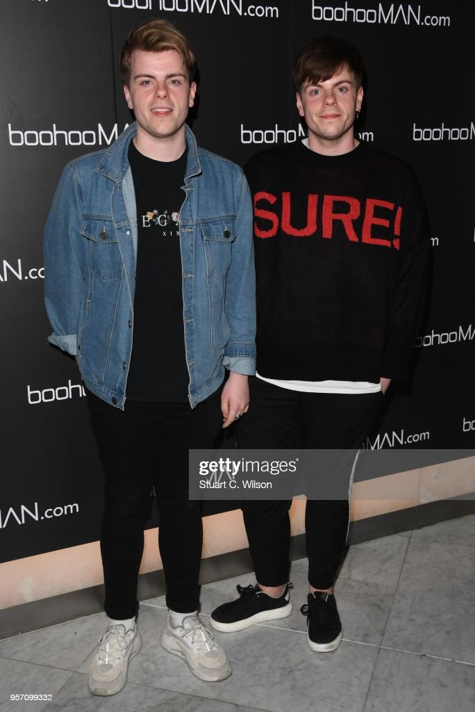 Niki and Sammy attend the boohooMAN by Dele Alli VIP launch at ME London on May 10, 2018 in London, England.