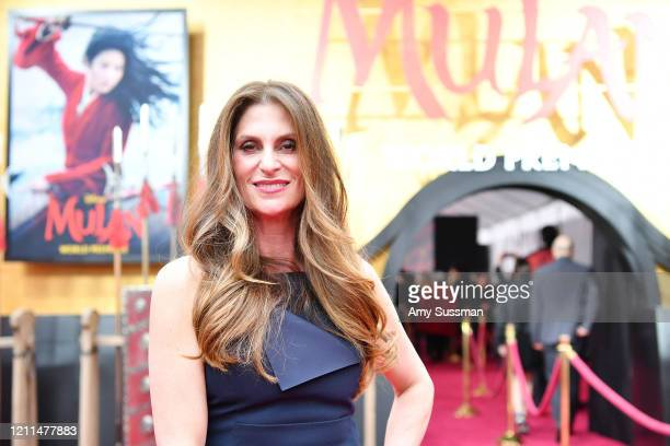 Niki Caro attends the premiere of Disney's Mulan on March 09 2020 in Hollywood California