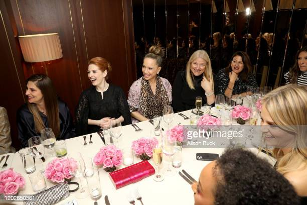 Niki Caro, Victoria Mahoney, Bruna Papandrea, and Jamie Kantrowitz attend the InStyle Badass Women Dinner Hosted By Laura Brown & Sponsored By Secret...