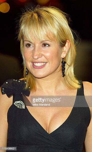 """Niki Chapman during """"Master & Commander: Far Side Of The World"""" - 2003 CTBF Royal Film Performance at Odeon Cinema, Leicester Sq in London, Great..."""