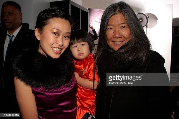 Niki Cheng Pienna Cheng and guest attend KolDesign and BoConcept's annual Holiday party at BoConcept on December 16 2008 in New York City