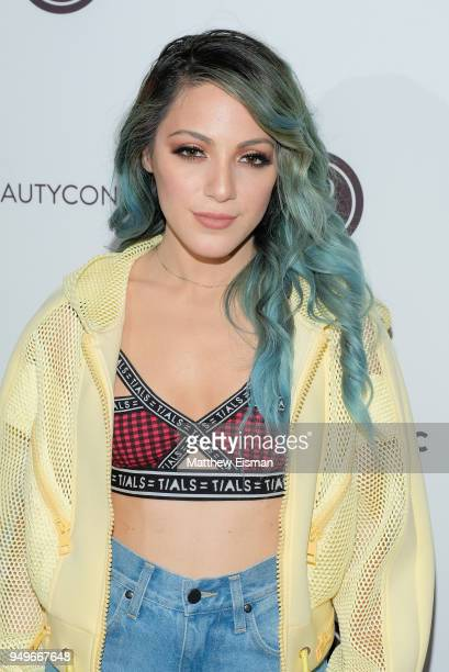 Niki DeMartino attends Beautycon Festival NYC 2018 Day 1 at Jacob Javits Center on April 21 2018 in New York City