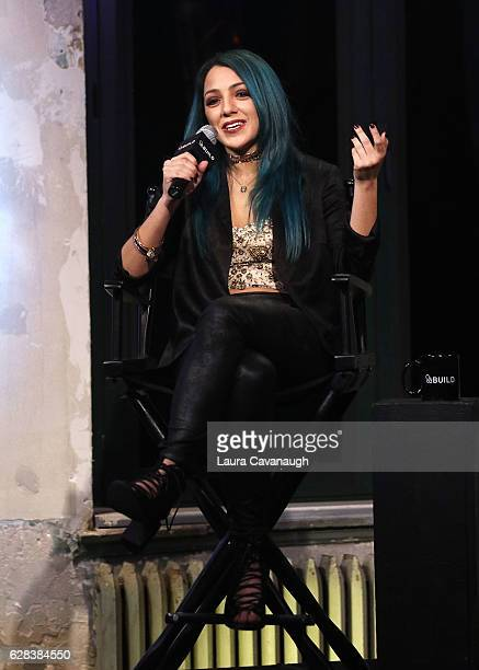 Niki DeMartino attends Build Presents to discuss Full Screen Live Presents Girls Night In at AOL HQ on December 7 2016 in New York City
