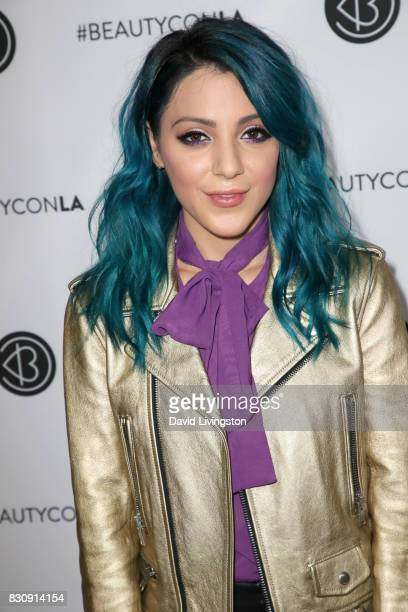 Niki DeMartino attends Day 1 of the 5th Annual Beautycon Festival Los Angeles at the Los Angeles Convention Center on August 12 2017 in Los Angeles...