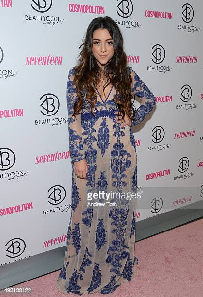 Niki DeMartino attends the 2nd Annual Beautycon New York City Festival at Pier 36 on October 17 2015 in New York City